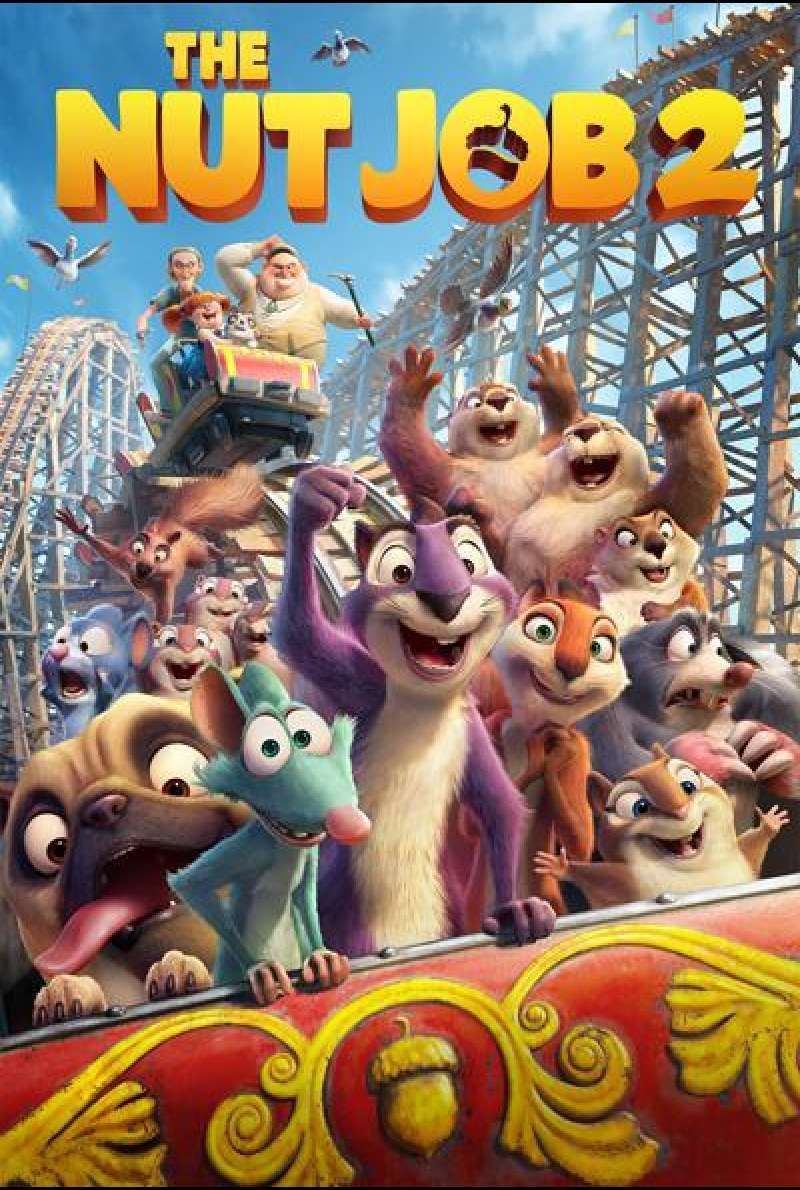 The Nut Job 2: Nutty by Nature von Cal Brunker - Filmplakat