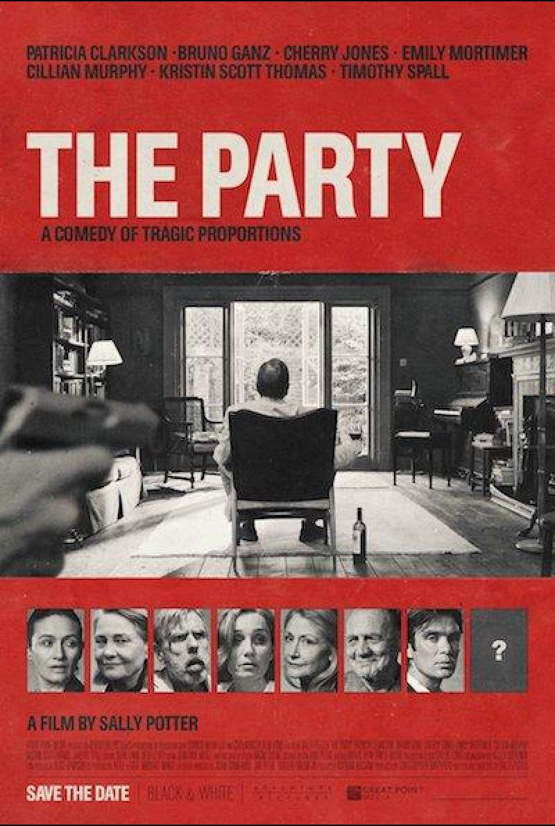 The Party - Filmplakat (INT)