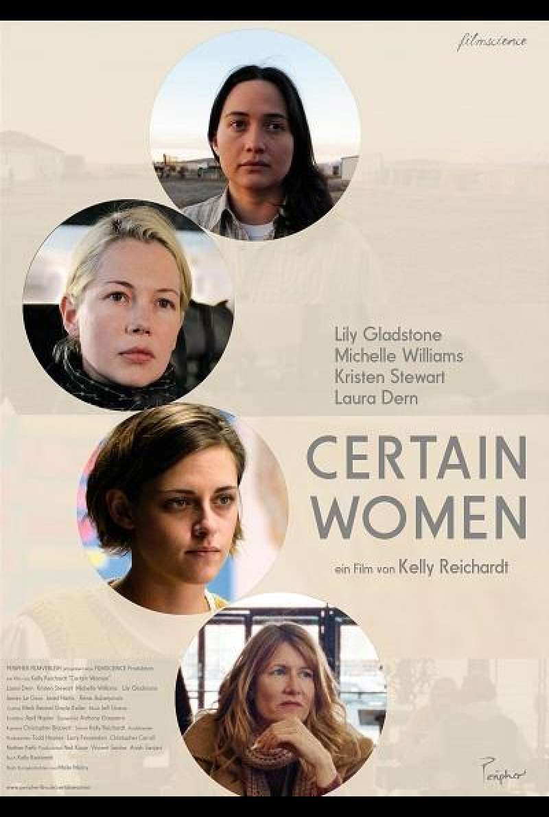 Certain Women - Filmplakat