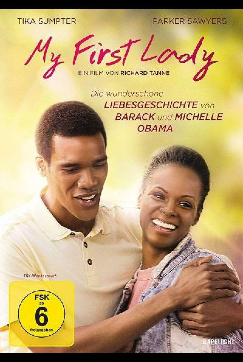 My First Lady - DVD-Cover
