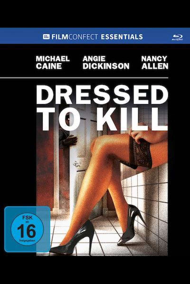 Dressed to Kill - Blu-ray Cover