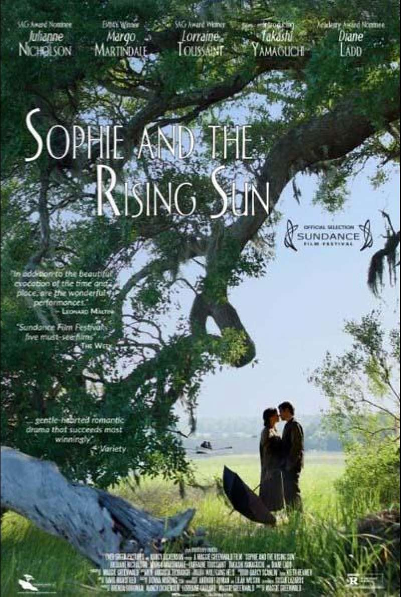 Sophie and the Rising Sun von Maggie Greenwald - Filmplakat