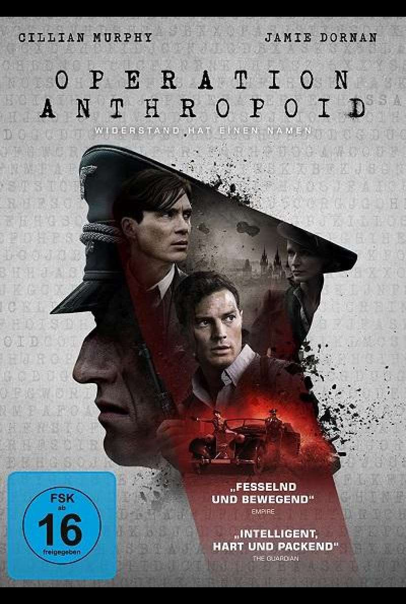 Operation Anthropoid - DVD-Cover