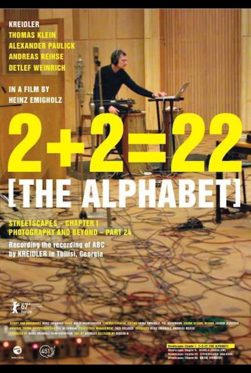 2+2=22 [The Alphabet] - Filmplakat