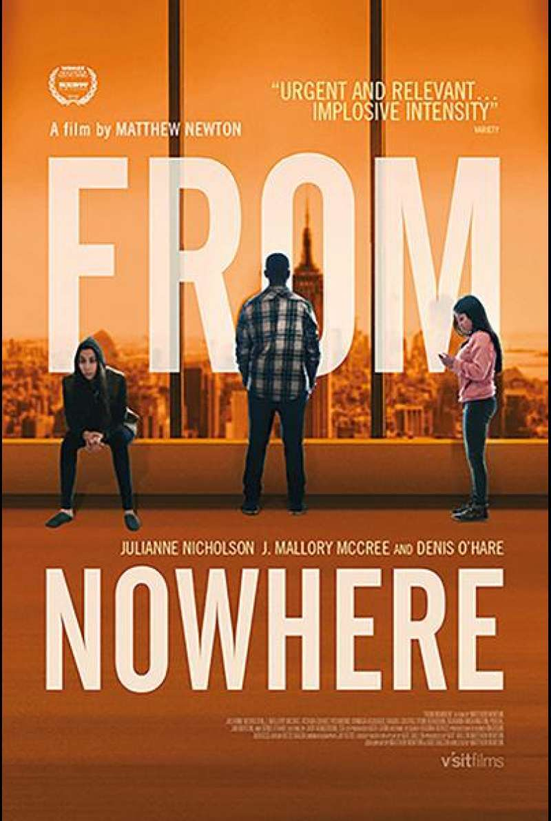 From Nowhere von Matthew Newton - Filmplakat