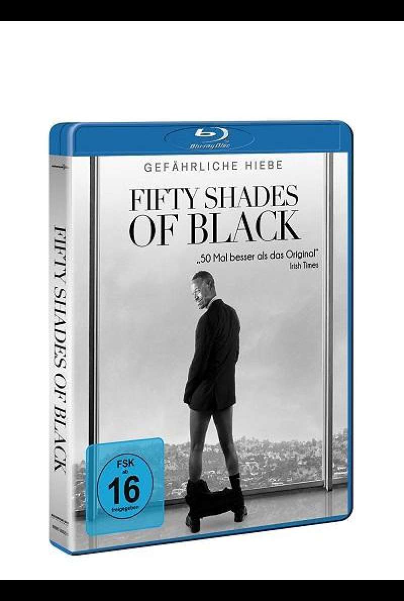 Fifty Shades of Black - Blu-ray-Cover