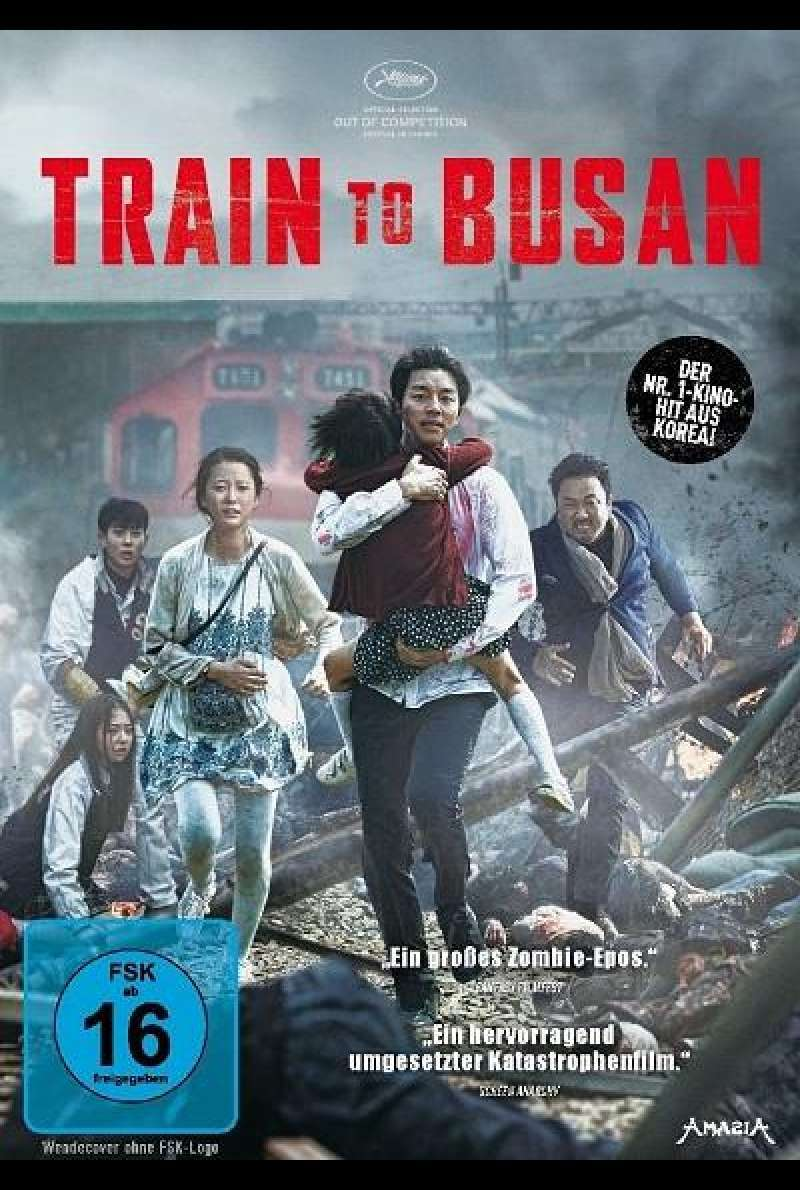 Train to Busan - DVD-Cover