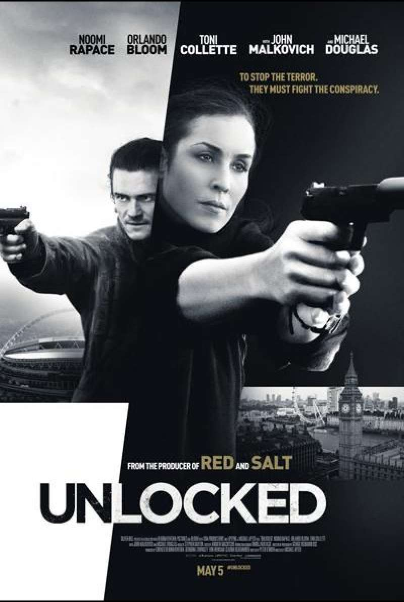 Unlocked von Michael Apted - Filmplakat