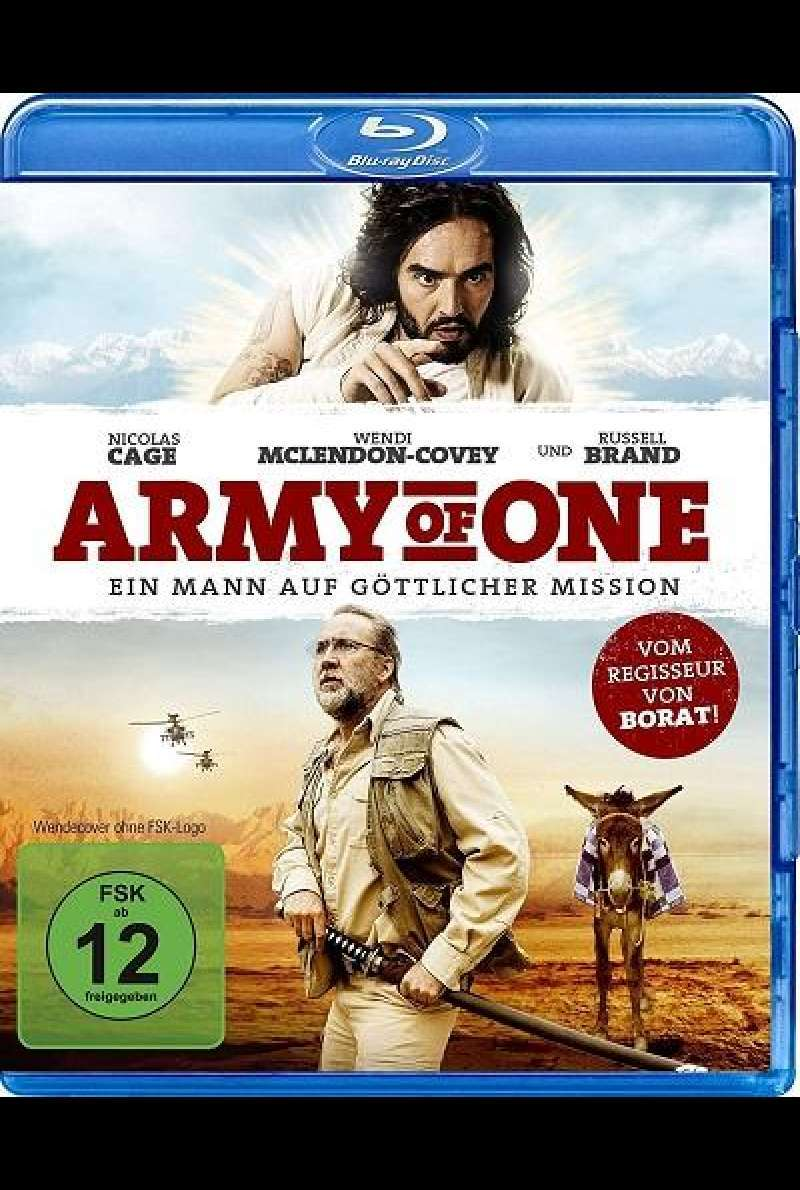 Army of One - Ein Mann auf göttlicher Mission - Blu-ray-Cover