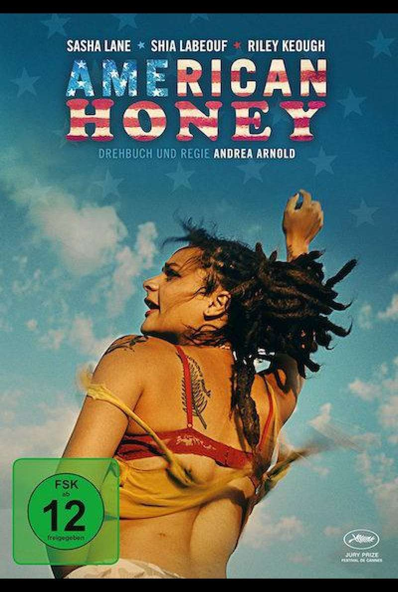 American Honey von Andrea Arnold - DVD-Cover