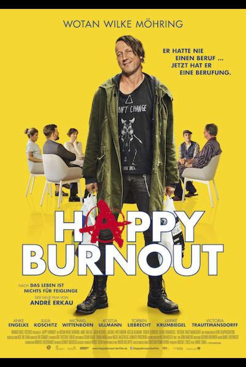 Happy Burnout von André Erkau - Filmplakat