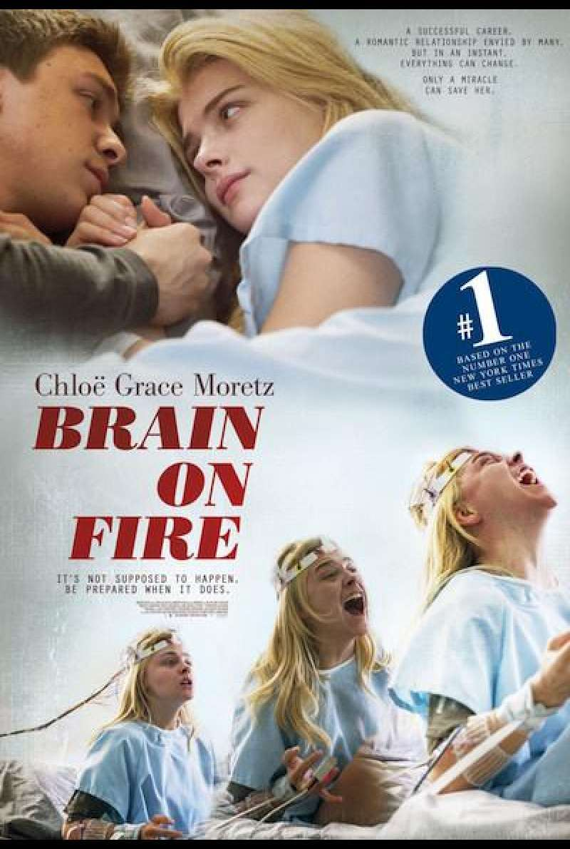 Brain on Fire - Filmplakat (US)