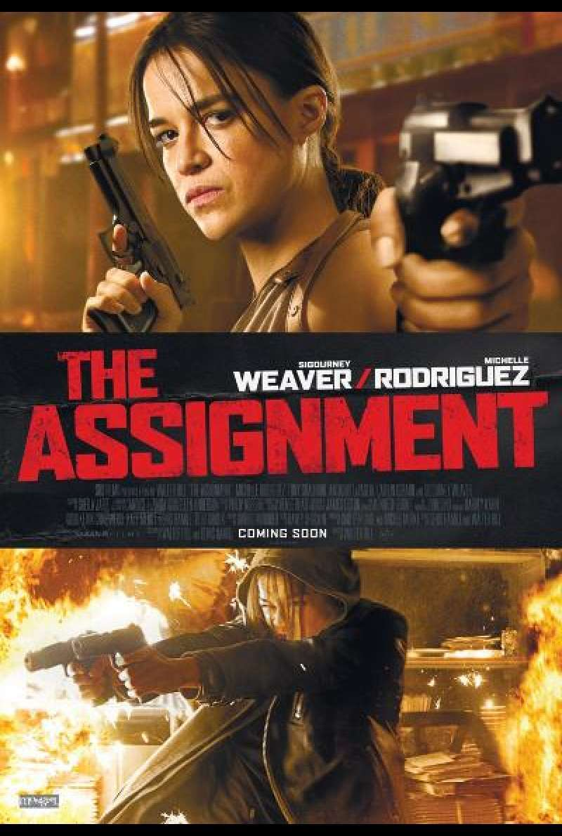 The Assignment von Walter Hill - Filmplakat (US)