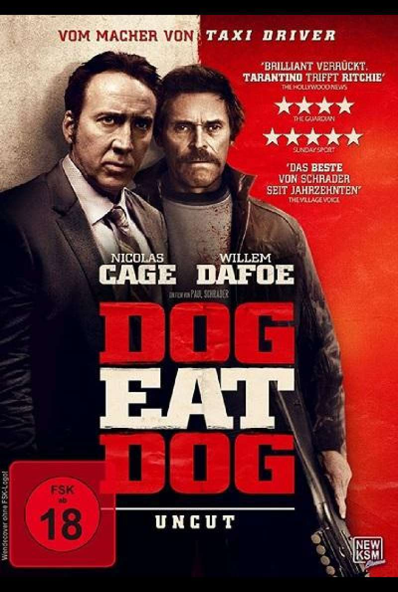 Dog Eat Dog - DVD-Cover
