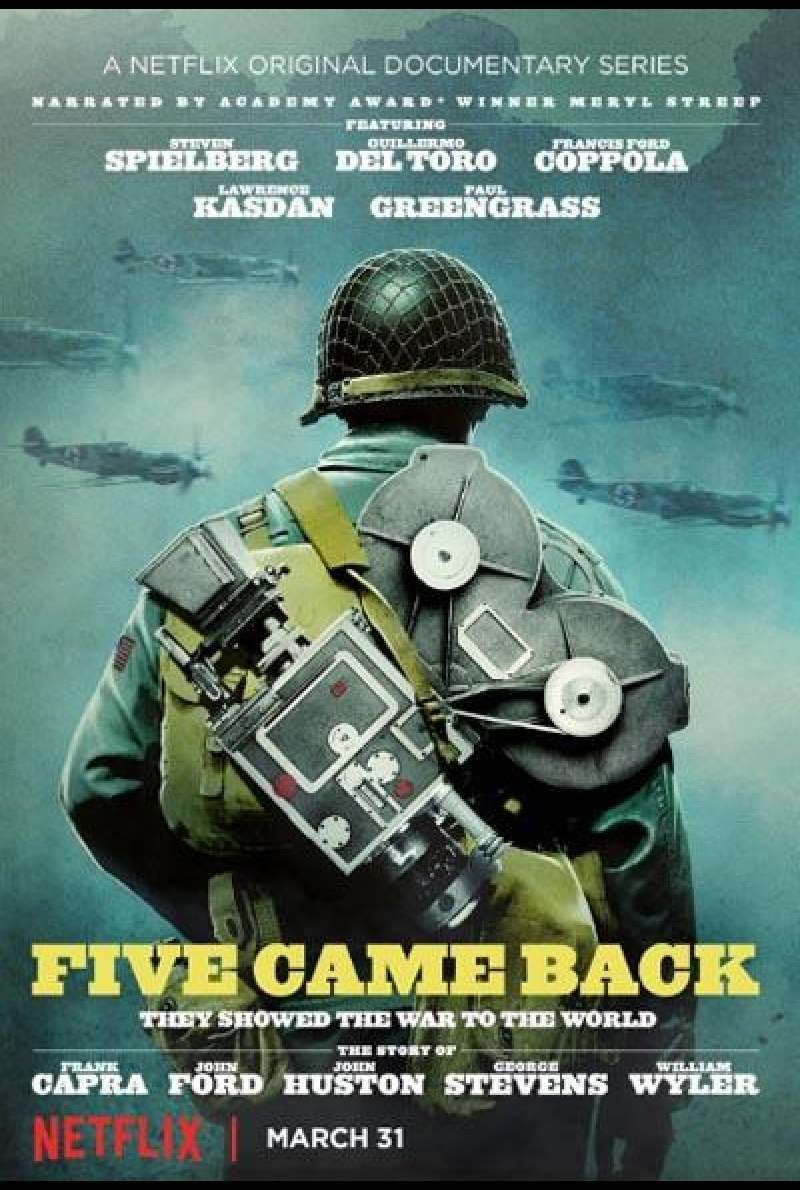 Five Came Back von Laurent Bouzereau - Plakat