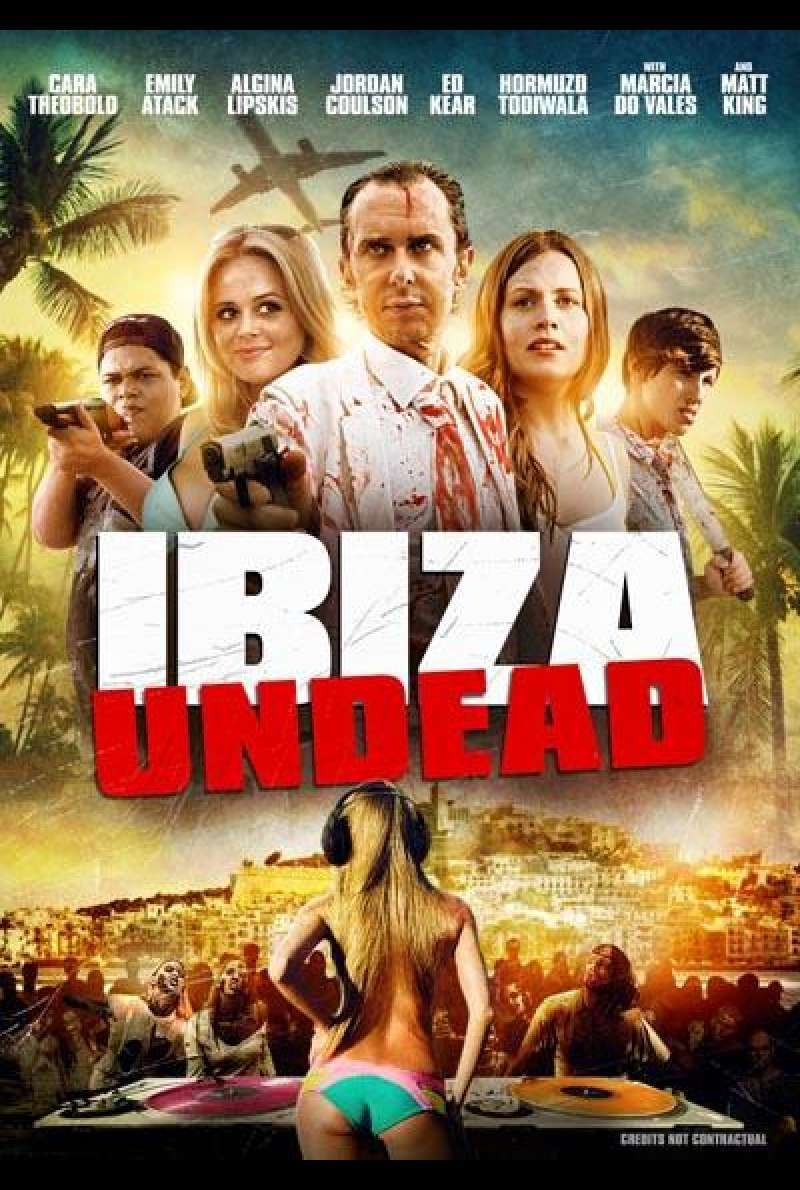 Ibiza Undead von Andy Edwards - Filmplakat