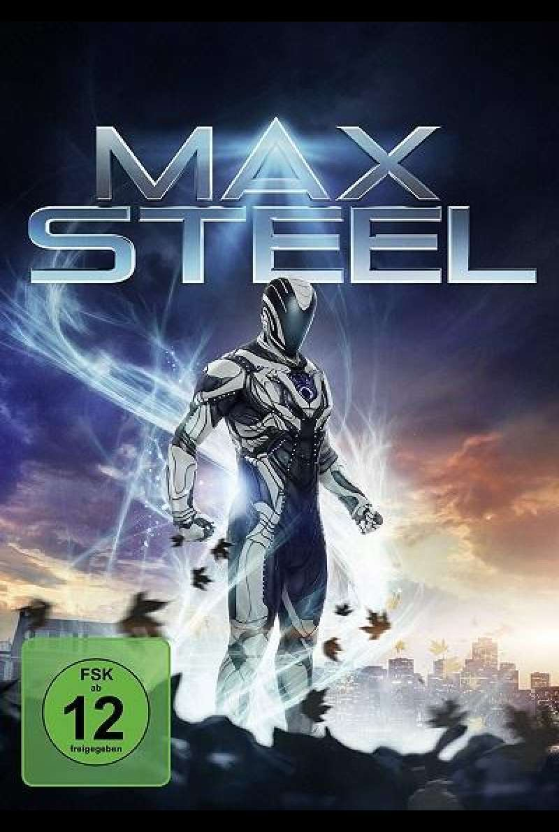 Max Steel - DVD-Cover