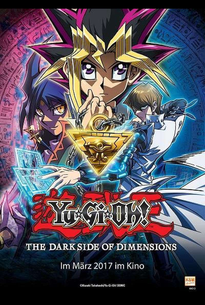 Yu-Gi-Oh! The Dark Side Of Dimensions - Filmplakat