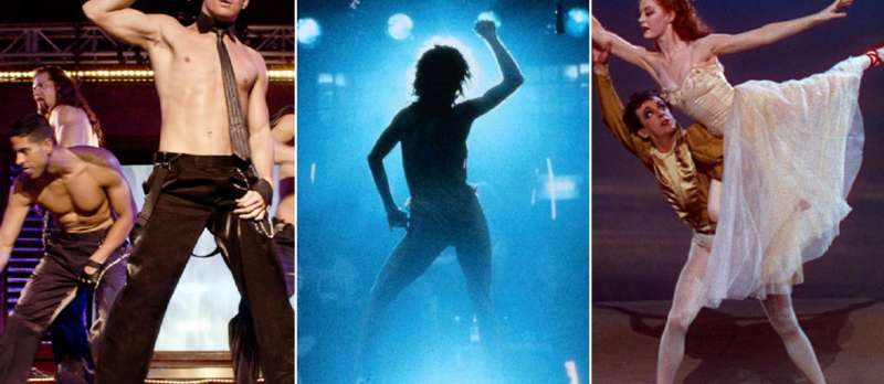 """Magic Mike"" / ""Flashdance"" / ""Die roten Schuhe"""