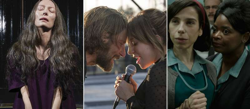 Suspiria/A Star Is Born/The Shape Of Water
