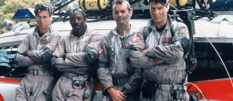 Die Ghostbusters in ihrer Originalformation