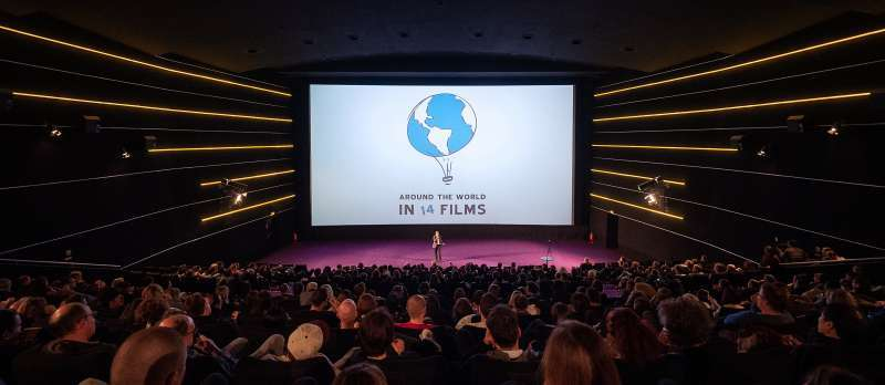 Eröffnungsgala AROUND THE WORLD IN 14 FILMS 2018 im Kino in der KulturBrauerei
