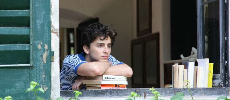 "Timothée Chalamet in ""Call Me By Your Name"""