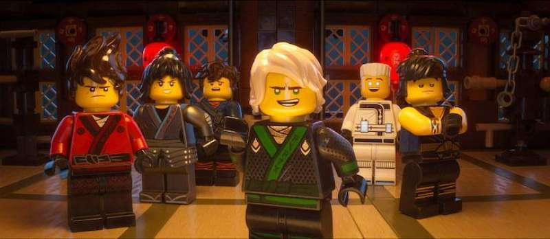 The Lego Ninjago Movie von Charlie Bean