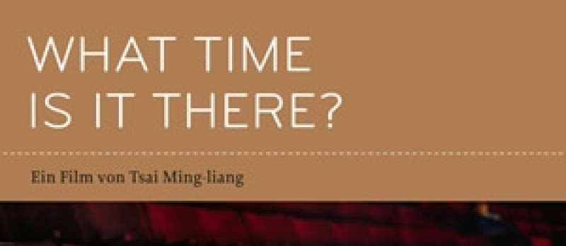 What Time Is It There? - DVD-Cover