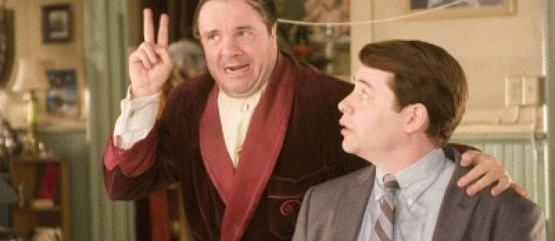 The Producers: Max Bialystock (Nathan Lane) und Leon Bloom (Matthew Broderick)