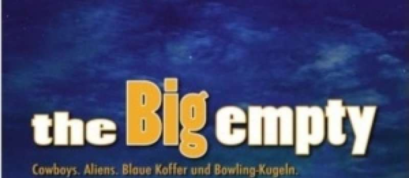 The Big Empty - DVD-Cover