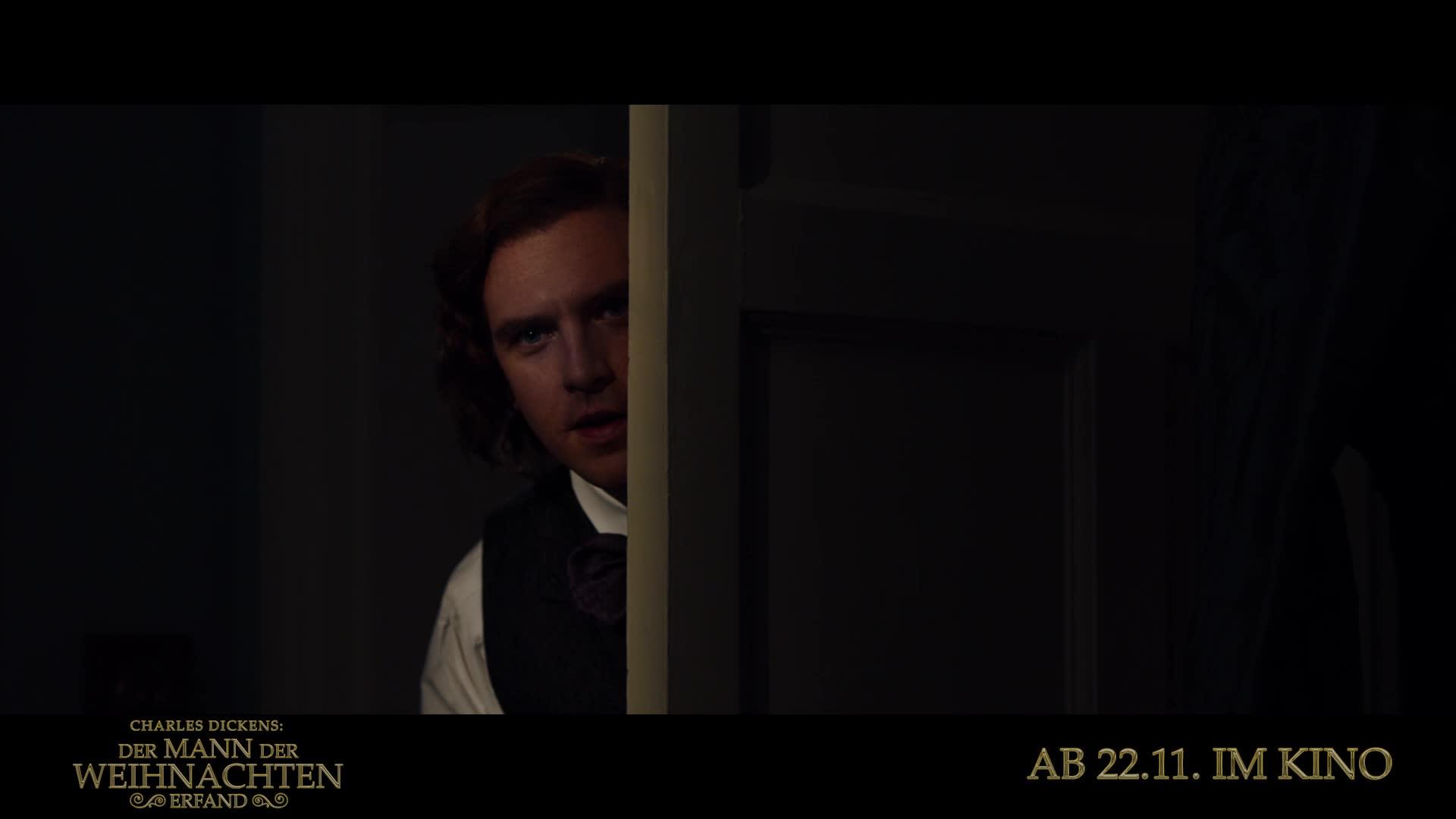 Der Weihnachten.Charles Dickens Der Mann Der Weihnachten Erfand 2017 Teaser Trailer 1 Deutsch