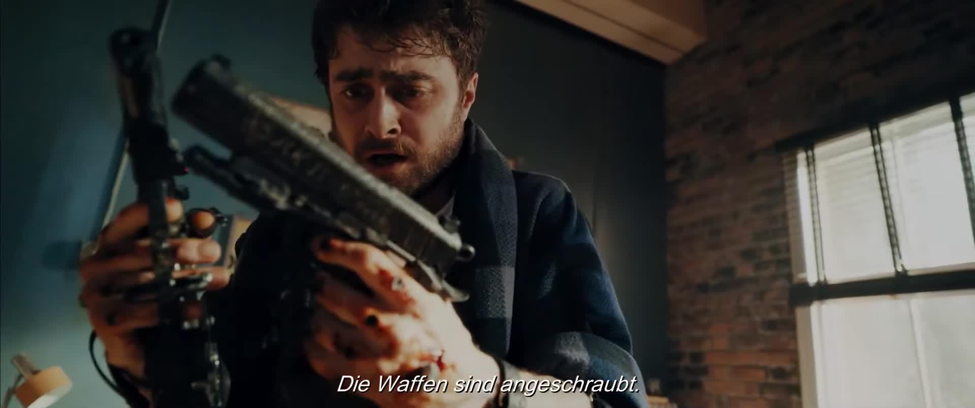 Guns Akimbo (2019)   Film, Trailer, Kritik